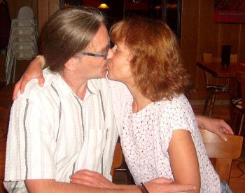 8. August 2009 - Riesen-Kuss zum Zweijährigen