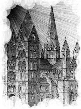 Schatten über den Limburger Dom