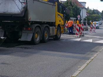 Baustelle Böblingen Schwabstraße