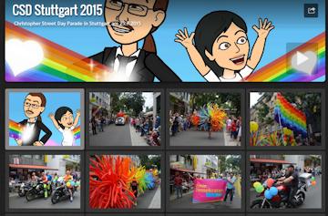 Fotos vom CSD Stuttgart 2015