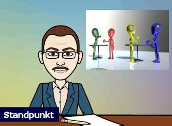 Standpunkt Comic Die Nachrichten AfD ZDM