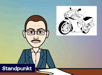 Motorrad-Saison !