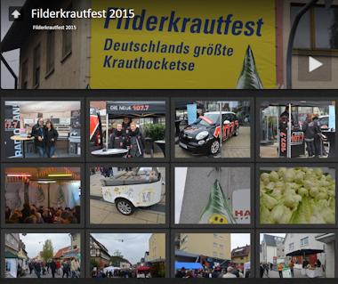 Bilder vom Filderkrautfest 2015