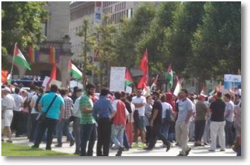"""Veranstaltung """"Freies Palästina"""" zum Al-Kuds-Tag in Stuttgart"""