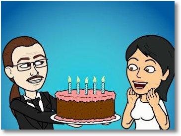 Herzlichen Glückwunsch zum Geburtstag, mein Glühwürmchen!