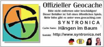 Geocaching - Hängen im Stumpf -  ::: © 2012 Glühwürmchen und Herzbeben & Syntronica.net