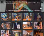 """Bilder von der """"5. Internationalen Kunstausstellung"""""""