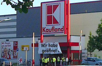 Kaufland Schwerrtstraße Sindelfingen ver.di Arbeitskampf