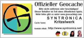 Kritzelwerk – Kreativer GeoCache ::: © 2012 Glühwürmchen und Herzbeben & Syntronica.net
