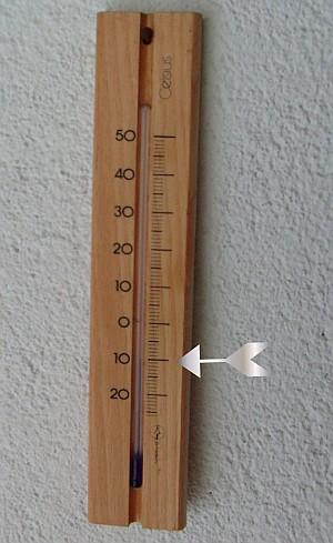Minus 10 Grad Celsius