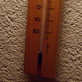 Minus 14 Grad Celsius