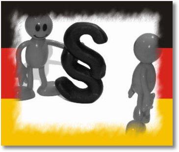 Paragraphen Männchen Deutschland