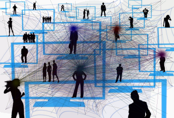 Soziale Netzwerke Ebenen Sichtweisen Standpunkte ::: © by pixelio.de & Syntronica.net