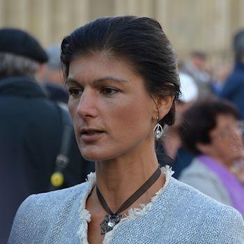 Sarah Wagenknecht war in Stuttgart
