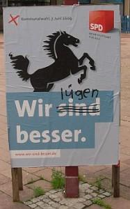 SPD - Wir lügen besser.