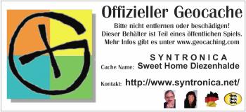Sweet Home Diezenhalde ::: Unser erster eigener Geocache