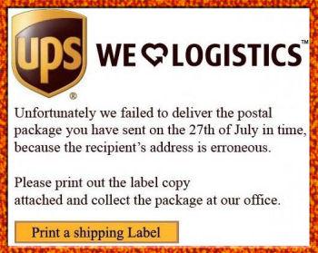 Betrug - angeblikch UPS