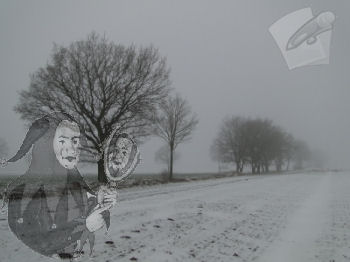 Winter Schnee Joker Schreiben Stift Zettel Block